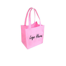 Promotional gift tote carry modern fashionable organic shopping non-woven bag