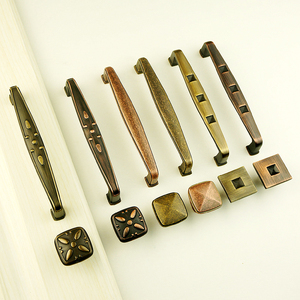 European antique furniture hardware wine cabinet wooden door drawer handle Pulls Drawer Knobs Kitchen Cupboard Handles
