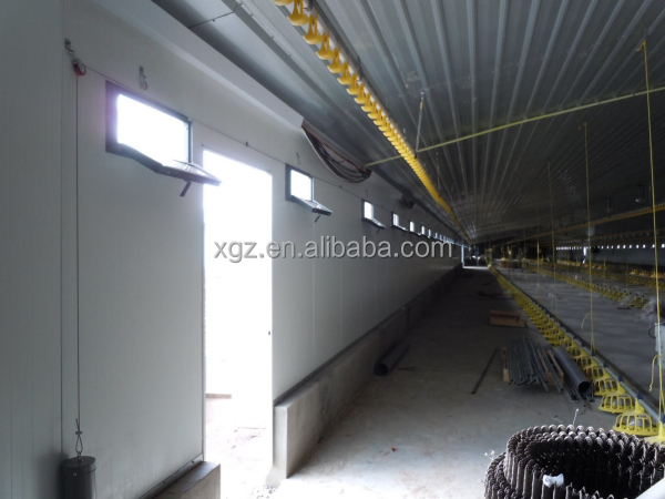 Steel Structure Broiler Chicken Farm Tent