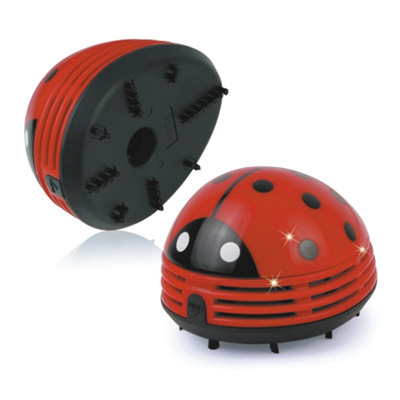 M039 wholesale high quality multicolor Ladybug portable Desk Mini hand <strong>vacuum</strong>