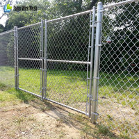 Chain Mesh & Security Fencing/ cyclone wire fence hot dip galvanised
