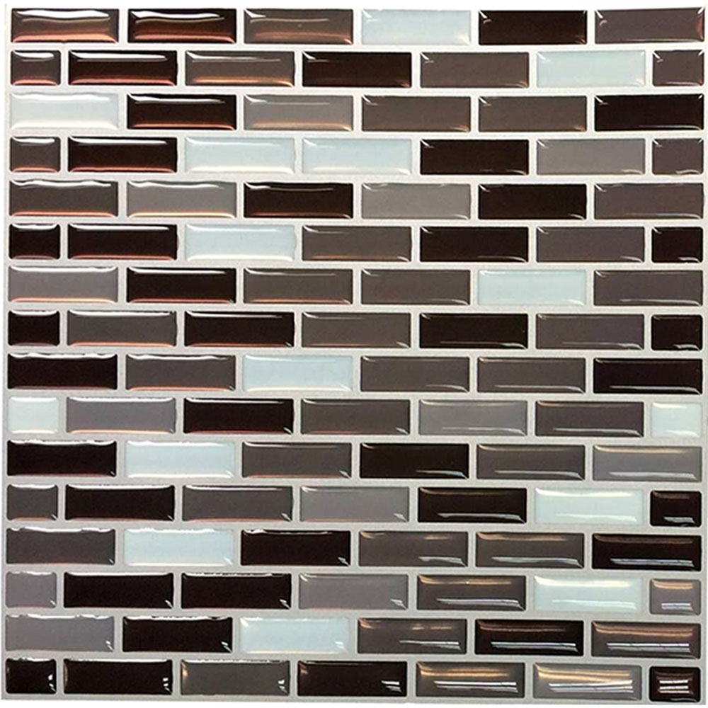 Wootile Mosaic Wall Tile Natural Varied for Backsplash and Bathroom Walls and Kitchen