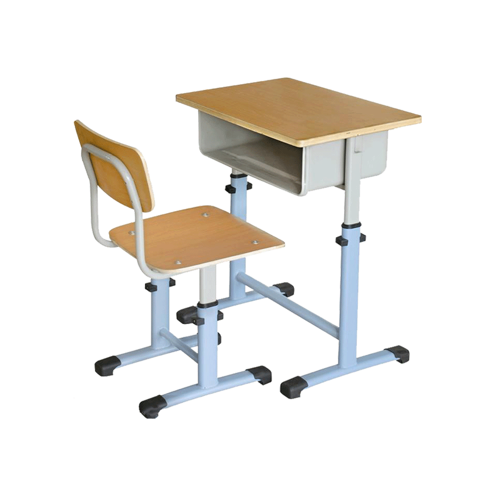 Primary school assemble kids child study table and chair for Furniture table and chairs