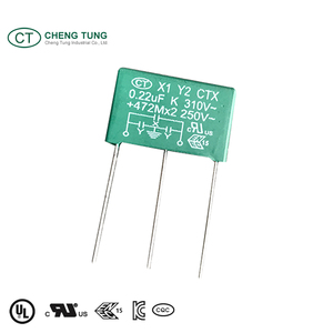 Interference Suppression X1Y2 Taiwan Capacitor Manufacture