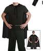 Adult Large New Fancy Dress Costume Superhero 2nd Skin Gents superheroes in black costumes