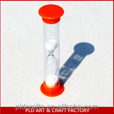 Plastic Hourglass,2 Minute Hourglass,Plastic 2 Minute Hourglass Sand Timer  - Buy Plastic Hourglass,2 Minute Hourglass Timer,Small Hourglass Product on
