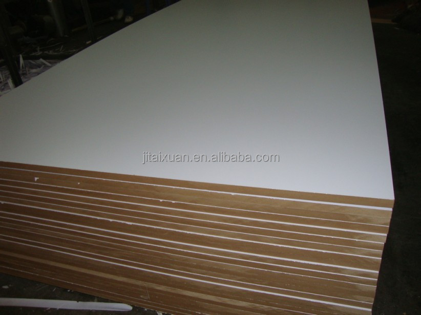 18mm Standard Size Mdf Board For Table Top,Melamine Coated Mdf ...