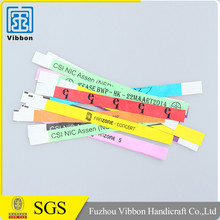 Many Years manufacture experience printing Paper tyvek wristband