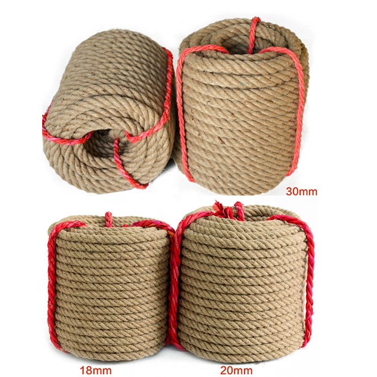 Fábrica 5mm-60mm Torcido Sisal Natural Hemp Manila Rope Price