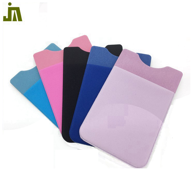 adhesive stickers silicone phone card holder,silicone smart phone pocket
