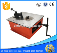 wrought iron manual scroll bending machine