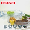 Baking glass/Baby Baking Tray/Small Cookware Plate0.4L,0.7L,0.85L