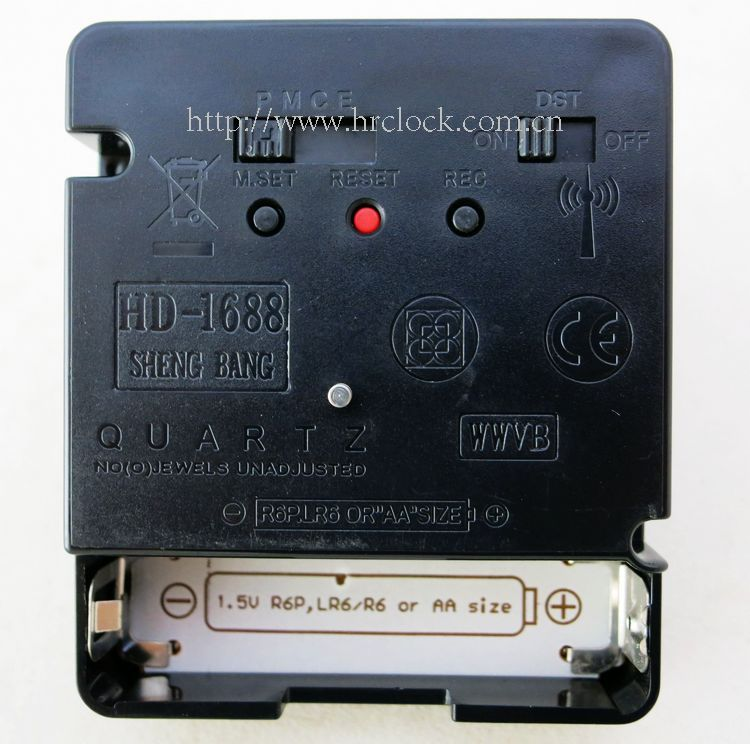 acctim radio controlled clock hd 1688 instructions