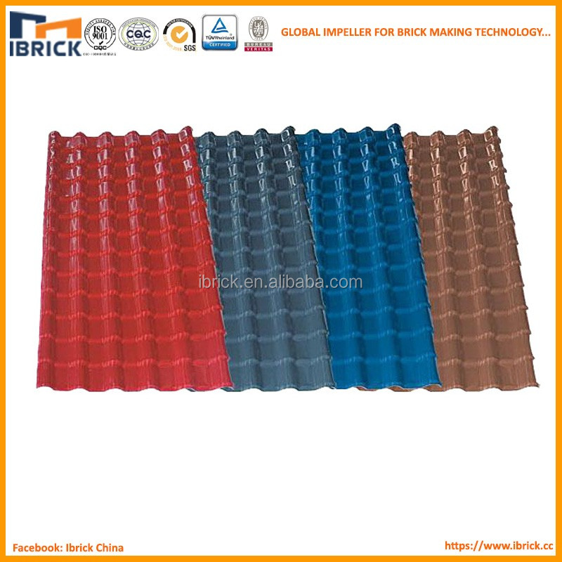 Ecological Construction Materials Synthetic Resin Roof