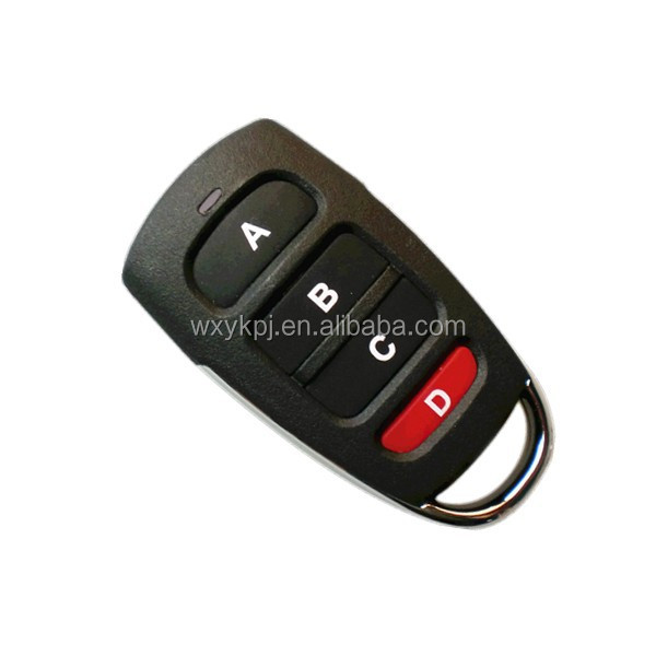 4 keys universal keyless car remote 433.92mhz