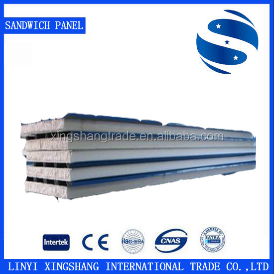 Cleanroom EPS sandwich panel for roof and wall from mill