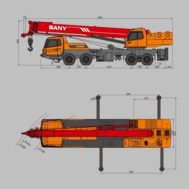 SANY STC300H 30 Tons Lean Manufacturing for Mobile Crane Specification,  View Mobile Crane Specification, SANY Product Details from Sany Group Co ,