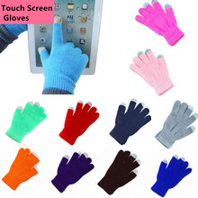 Custom winter magic texting touch screen gloves /gloves for touch screen