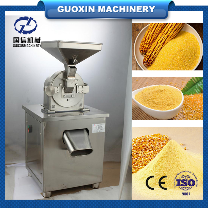 Stainless steel dried grain fruit powder making machine