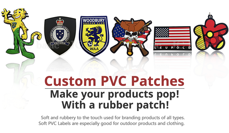 Custom funny best medic pvc morale patches for sale