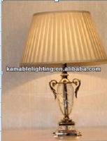 Modern copper decorative table lamp for office