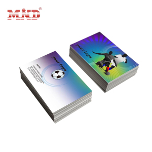 Glossy material print makeup artist modern world cup business cards