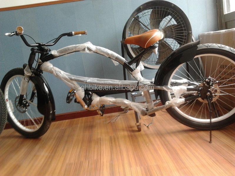 24 Inch Chopper Bike Bicycle Long Beach Cruiser Bikes For Man ...