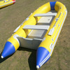 CE Approved inflatable Plastic Rowing Boat