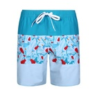 100% polyester gay swimwear men swim shorts swim with pocket