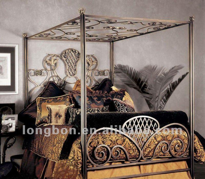 Modern Antique Iron Bed Frame