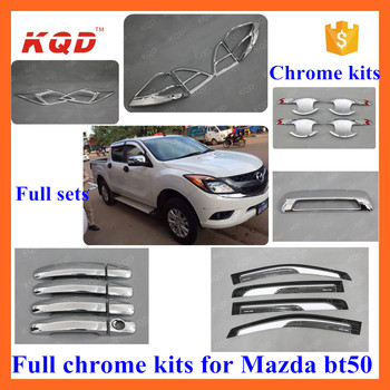 High Quality Auto Accessories Car Chrome Kit For Mazda Bt-50 - Buy ...
