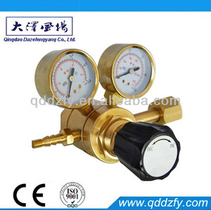Full brass oxygen high pressure regulator competitive series