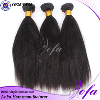 New products fashion yaki human straight hair for sale