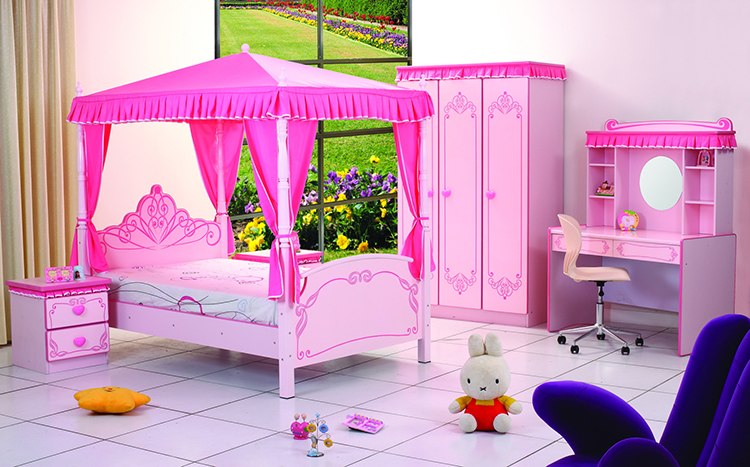 High quality modern cheap kid furniture princess palace for Cheap quality modern furniture