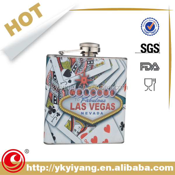 cardboard liquor hip flask gift set with gift boxes
