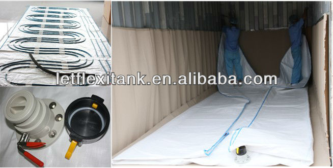 flexibag for loading greases