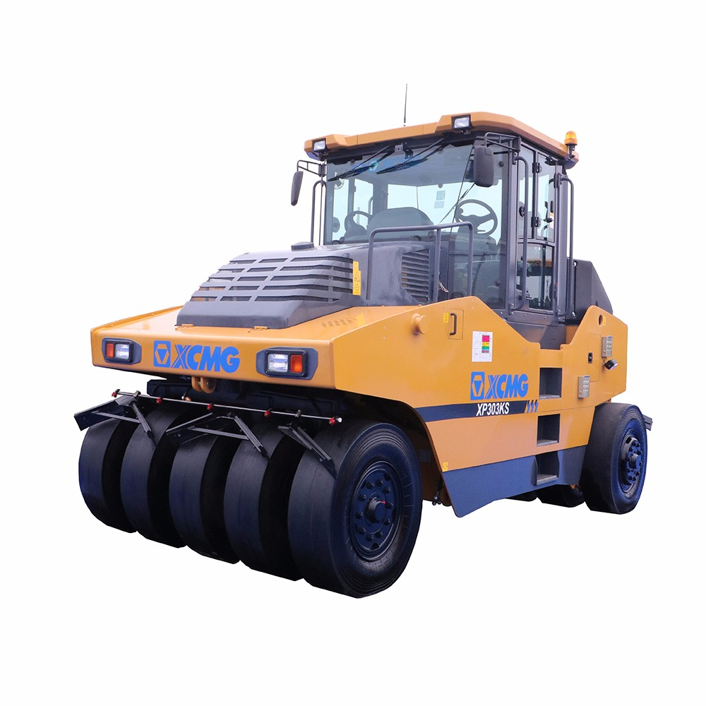 XCMG 4 ton Light double drum vibratory roller earth