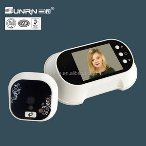 Door peephole 2.8 inch video peeping hole door viewer for door