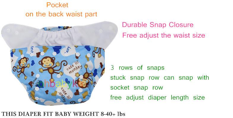 Ohbabyka China Wholesale Printed Cartoon Reusable Baby Double ...