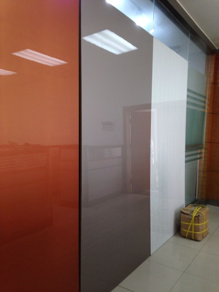 ZHUV high gloss UV faced melamine MDF board
