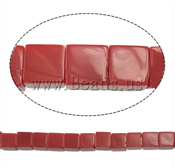 Free shipping!!!Jade Beads,Designer Jewelry, Jade Red, Cube, natural, 8.50x8.50x8.50mm, Hole:Approx 1.5mm