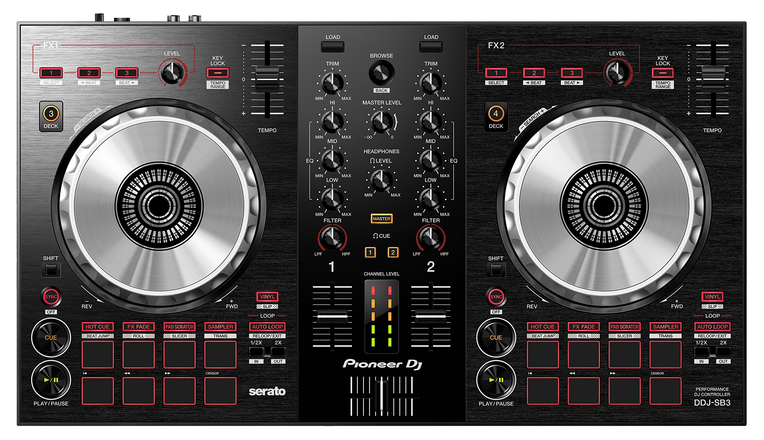 buy pioneer dj ddj sb3 dj controller in cheap price on. Black Bedroom Furniture Sets. Home Design Ideas