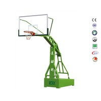 Top quality aluminium alloy frame outdoor basketball hoop price