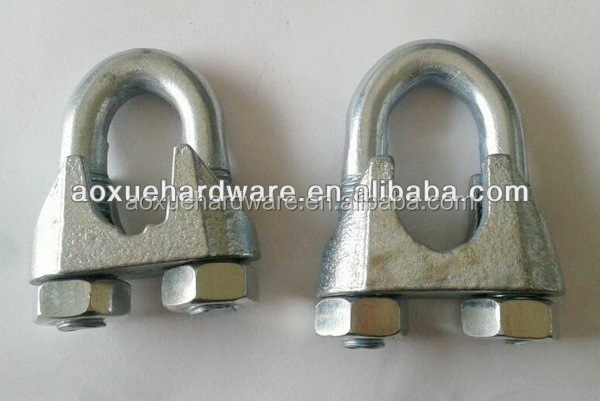 Steel Wire Rope Fasteners,Electric Galvanized Wire Rope Clips ...