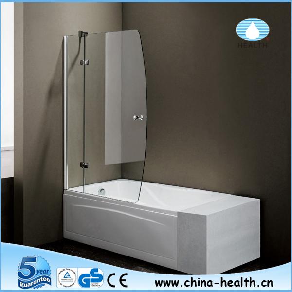 Tempered Glass Bathtub Door,Shower Screen For Bath Tub - Buy