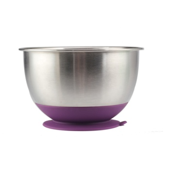 Top Rated Mixing Bowls  Stainless Steel Bowl Set With Non Slip Sucker base