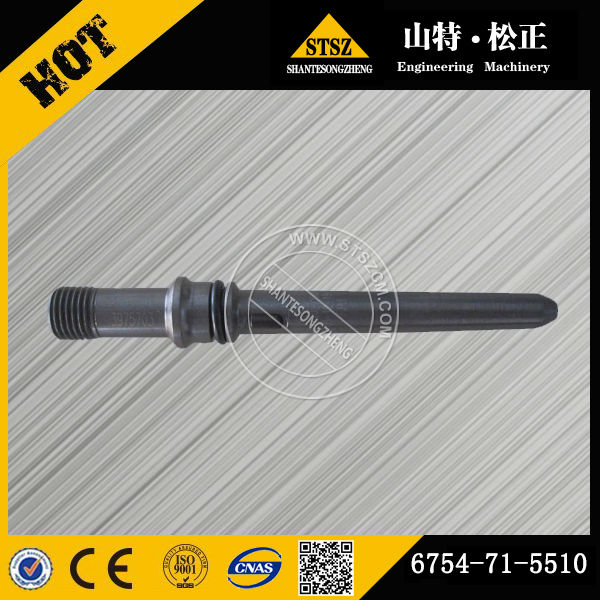 Earthmoving Spare Parts PC200-8 Excavator Fuel Filter Piping Connector 6754-71-5510