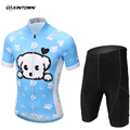 XINTOWN 2017 Kids Cycling Jersey MTB Bike Bicycle Quick Dry Children Sport Motocross Downhill Jerseys Clothing
