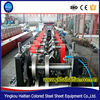 Pre-Punching and Post-Cutting Z Purlin roll forming Machine