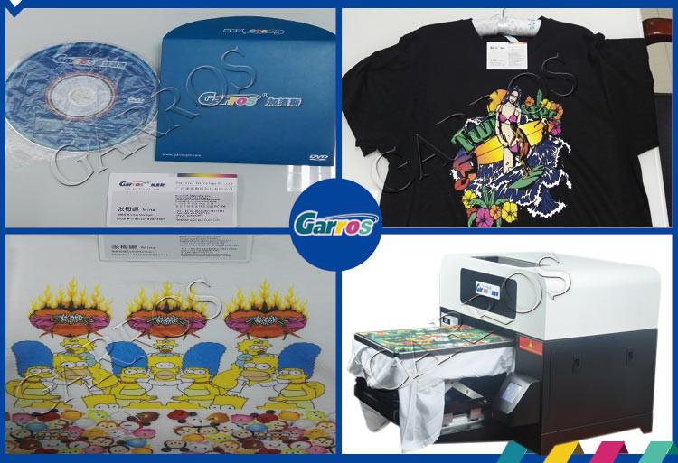 12f9c6516970 A3 numérique vente chaude coton t-shirt à plat machine d impression polo  shirt